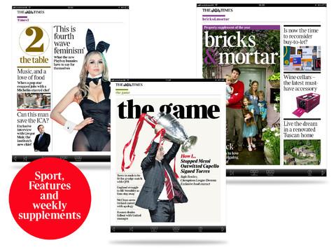 The Times iPad