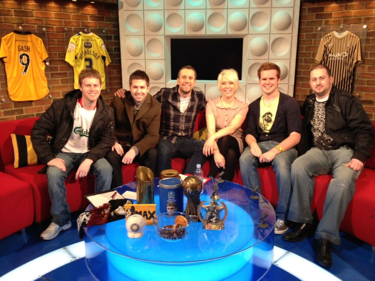 Behind The Scenes Of Soccer AM