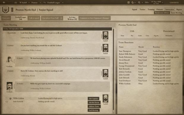 Football Manager 1888 screenshot 4