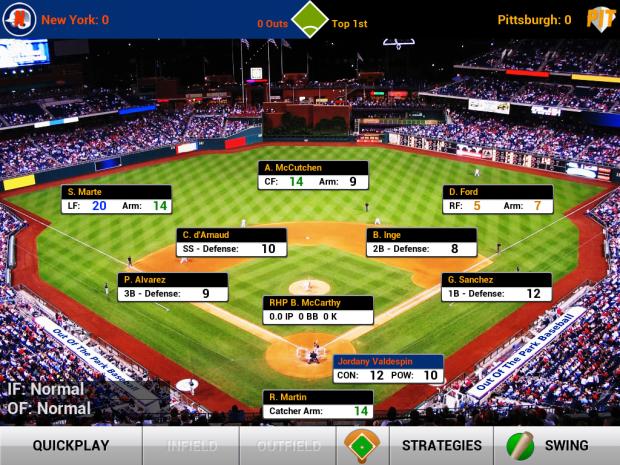iOOTP Baseball 2013 matchup