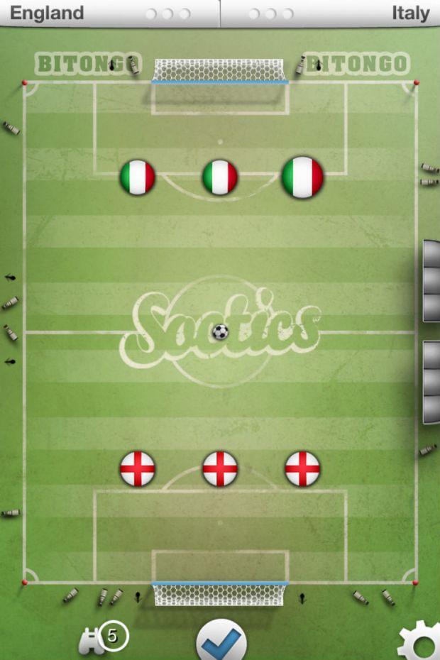 Soctics League iPhone iPad