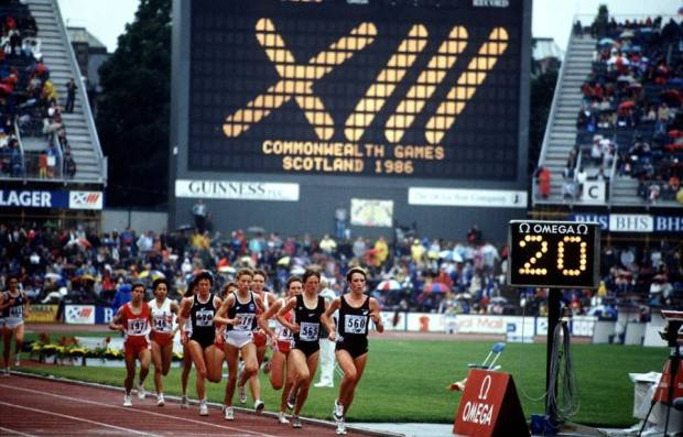 1986 Commonwealth Games © Glasgow 2014