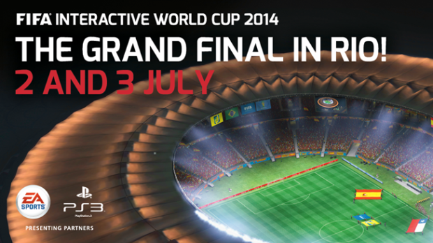 FIFA Interactive World Cup banner