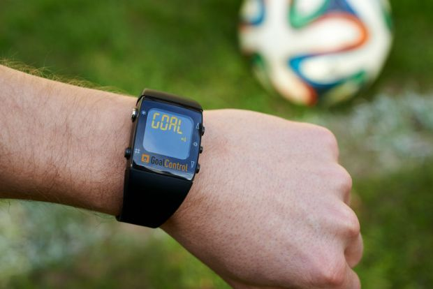 Goalcontrol referee watch