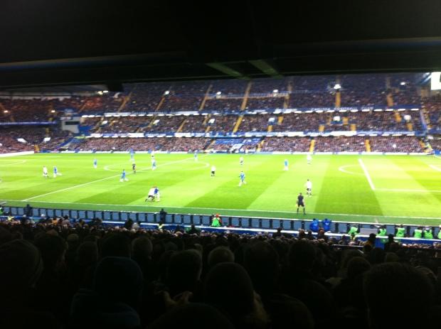 Chelsea v Fulham Stamford Bridge 2012-13